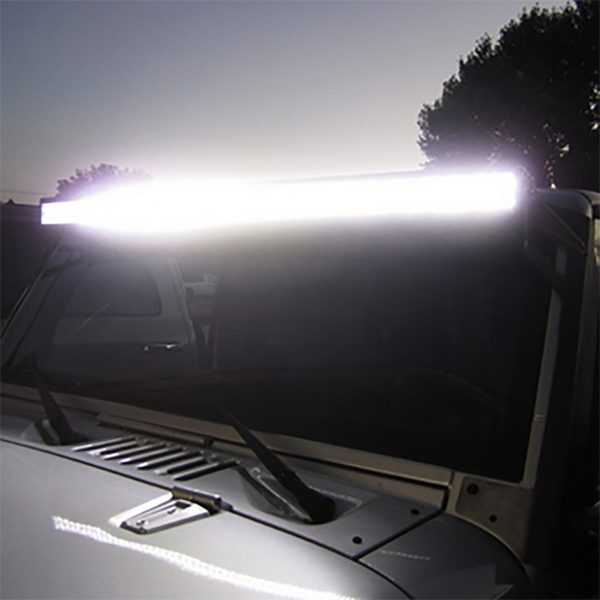 barra led jeep simple b offroad