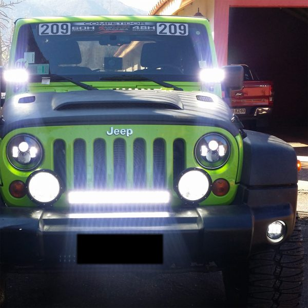 foco led busca camino high power jeep camiones rl-b61-12-60w 6
