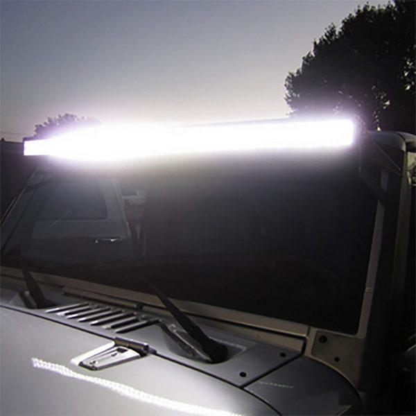 soporte barra led techo 4x4 off road Race Light Jeep