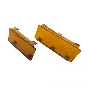 filtro de policarbonato para barra led ambar