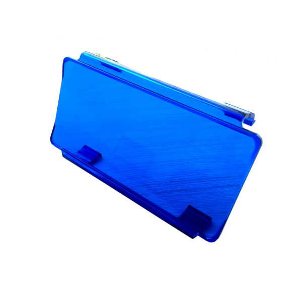 filtro de policarbonato para barra led azul