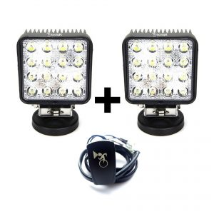 pack faros faeneros led industria mineria set IX