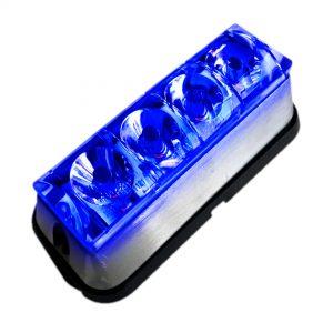baliza led emergencia azul