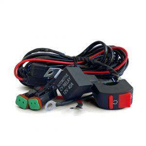 arnes de cables conexión moto